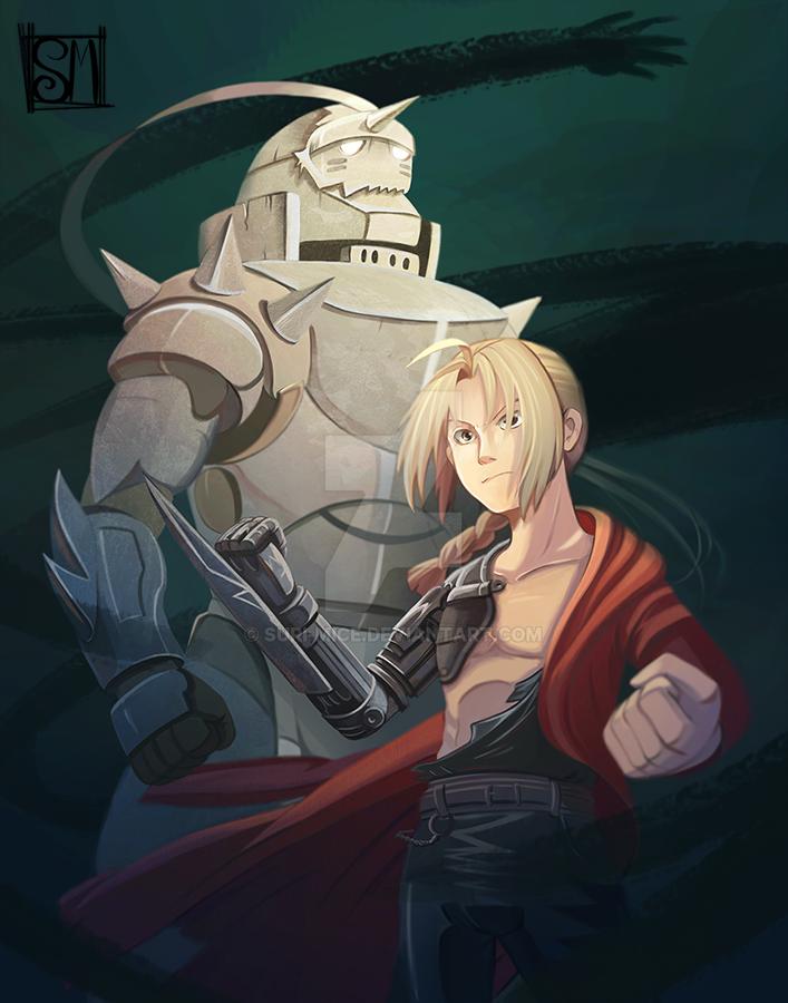 Before the dawn - Fullmetal Alchemist Fan Art