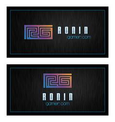 RoninGamer_Logo