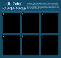 OC Color Palette Meme by Shockzboy