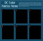 OC Color Palette Meme