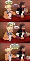 Awkward conversation