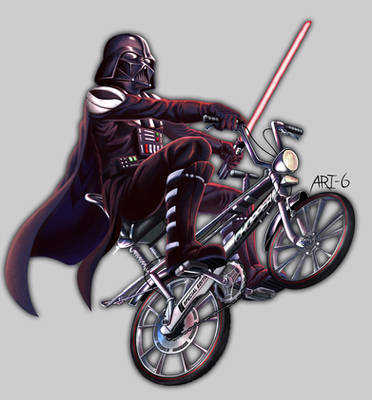 Vader on a Bike
