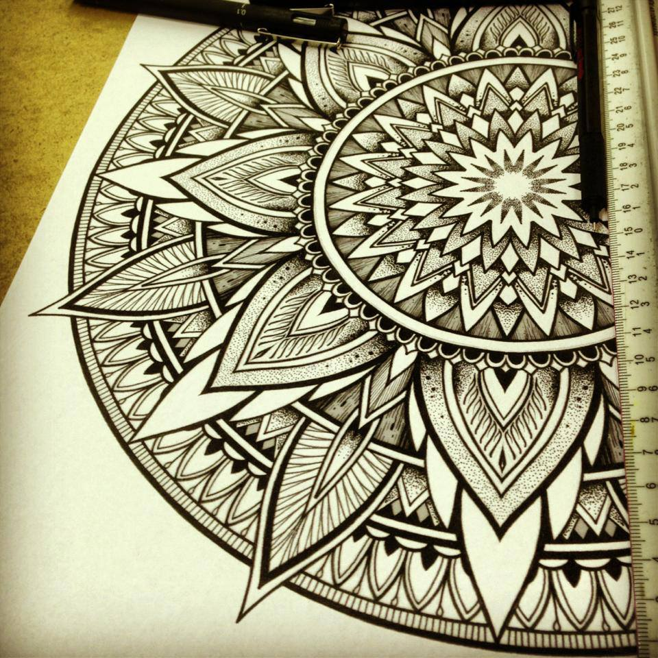 Solstice Mandala Project Day008 By OrgeSTC On DeviantArt