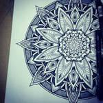 Solstice Mandala Project Day001