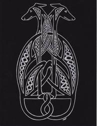 CelticHounds BlackSilver by Melibells