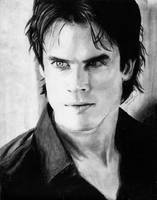 Damon Salvatore by VilenH