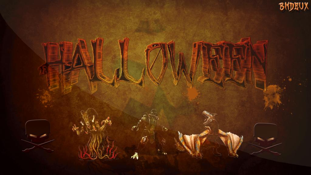 Wallpaper Halloween - 2013 by bmdeux