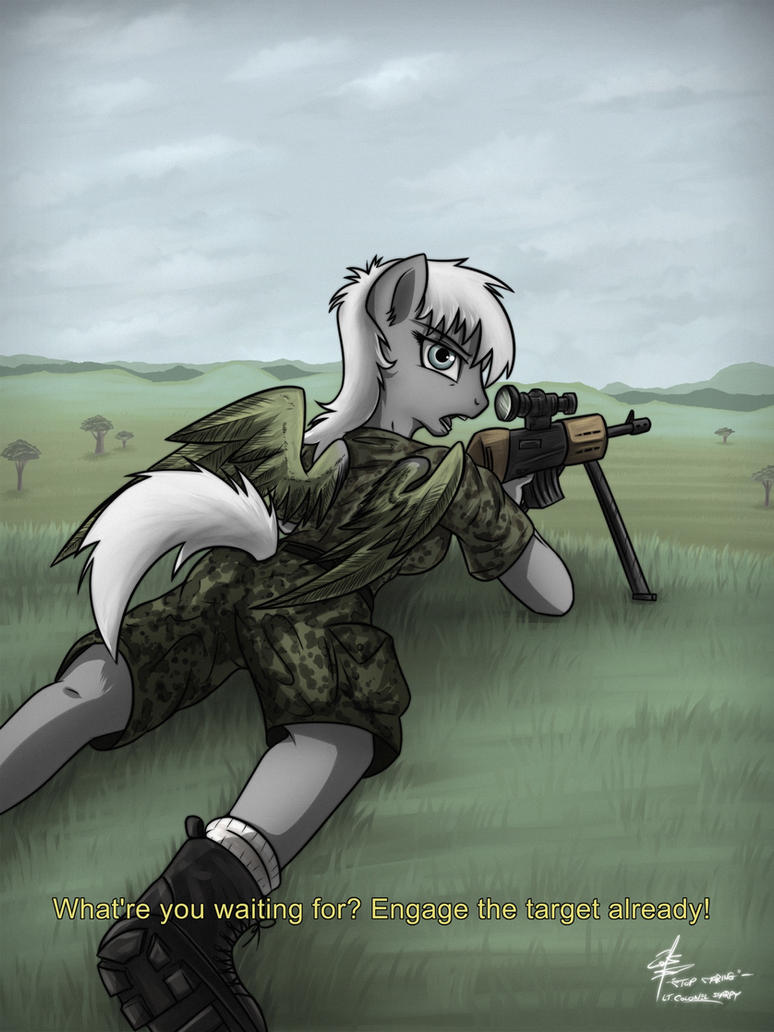 Whatcha lookin' at? (By slawomiro) by Lt-Colonel-Sharpy