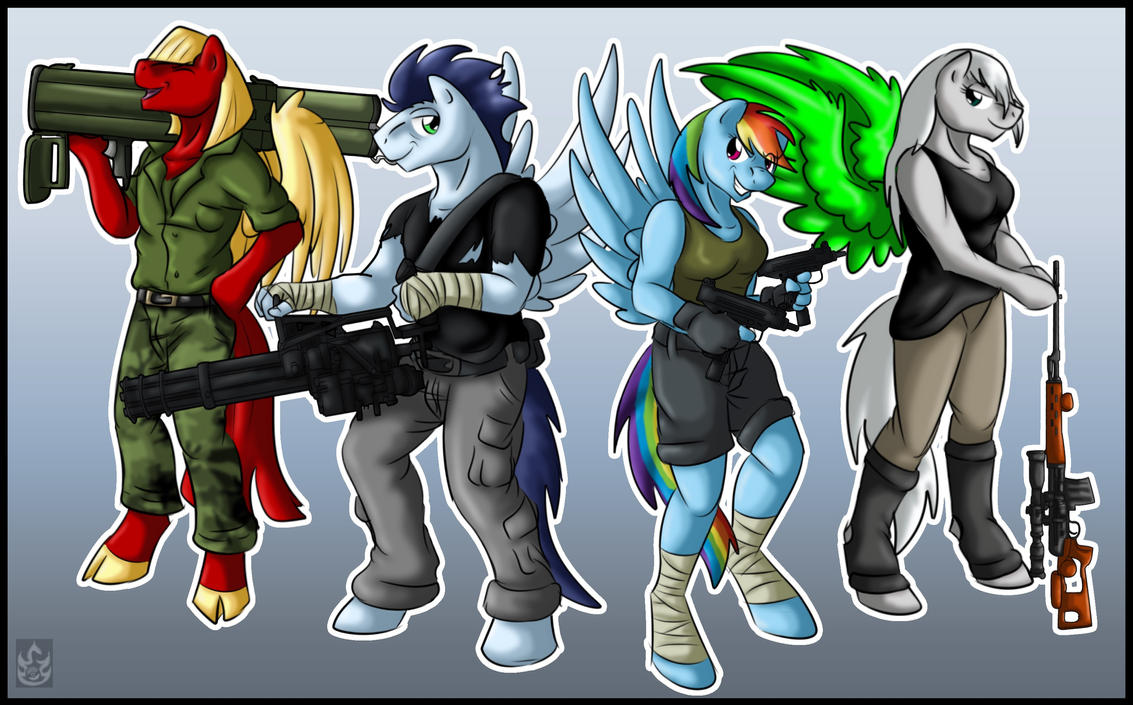 Super Squad - Missed us? (By StormBlaze-Pegasus) by The-Nuclear-Pegasus