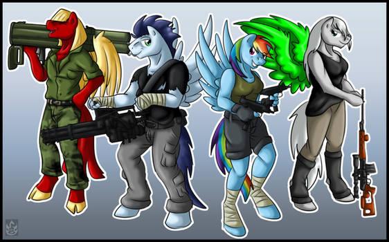 Super Squad - Missed us? (By StormBlaze-Pegasus)