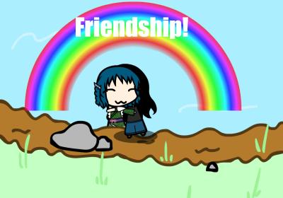 Friendship! by MarcytheYokaiVampire