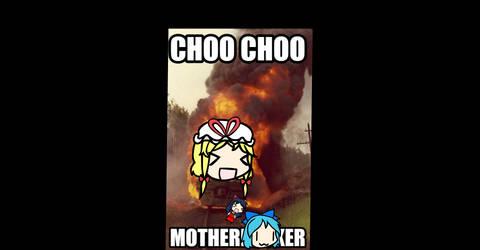 Choo Choo (Censored for the Kids lol) by MarcytheYokaiVampire