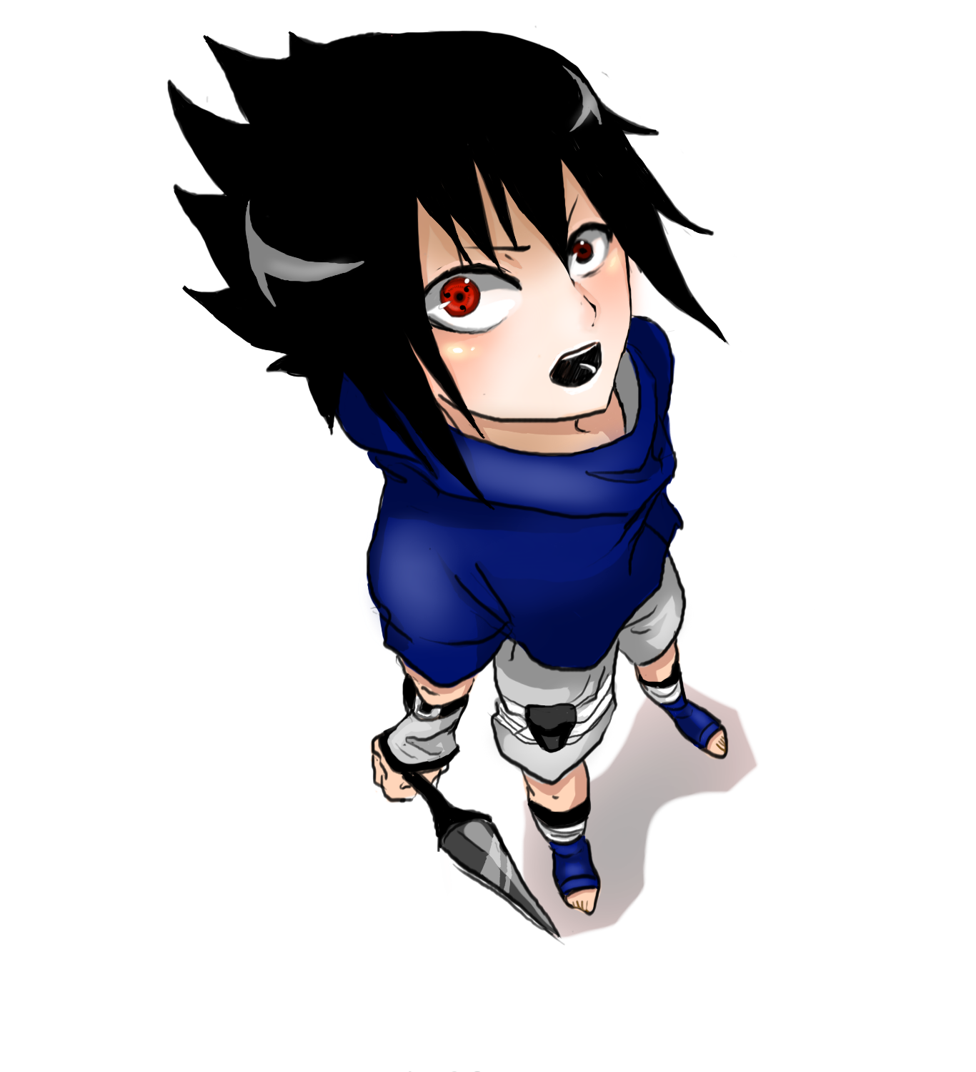 Sasuke Chibi Sharingan by TheCecile on DeviantArt
