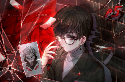 [COLLAB] Persona 5 Akira (+Speedpaint...kind of)