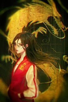 Casual Mulan (+Speedpaint)
