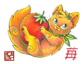 Strawberry Blonde by aoikagetora