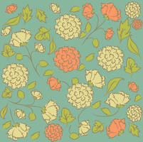 flores- pattern by paupaula