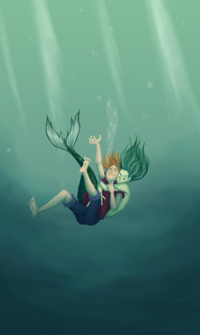 Art-trade: Sirena by paupaula