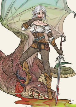 Ciri of Cintra - Job for a Witcher
