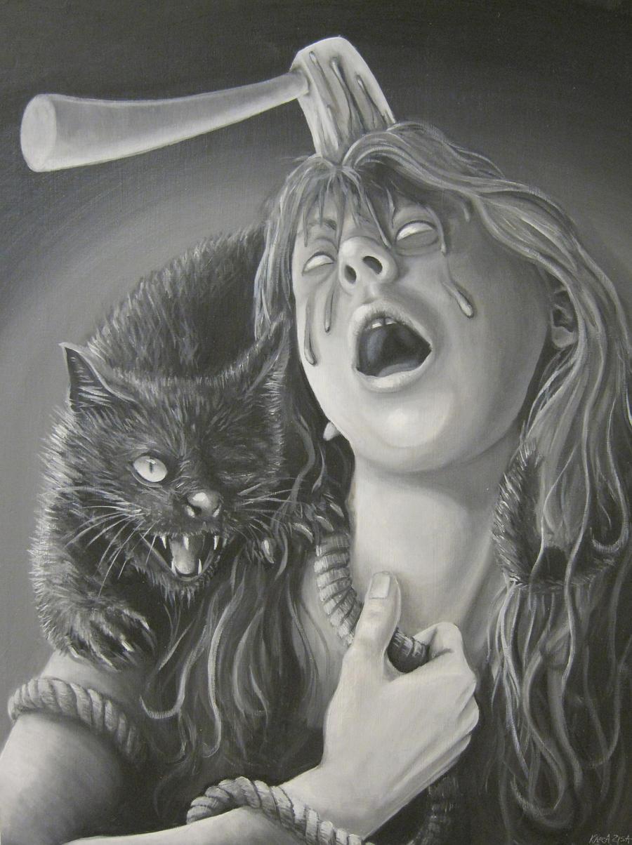 The Black Cat by icegoo
