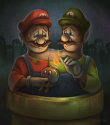 Super Transplant Bros. by icegoo