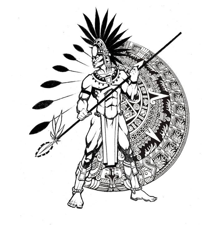 Aztec Tattoo Design Picture 1