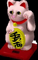 Lucky Cat Digital Study by katiejane2001