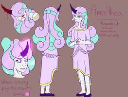 Amalthea (Reference Sheet) by katiejane2001