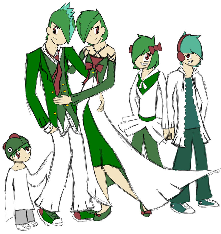 gallade and gardevoir human - photo #14