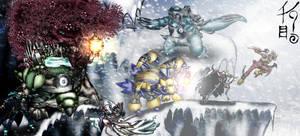 Unova Battle Team by KonnorWite