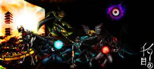 Unova Ninja Team by KonnorWite