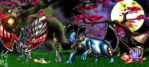 Unova Wandering Team by KonnorWite