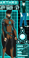Young Justice OC Arthro by KonnorWite