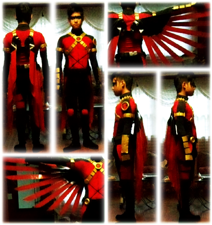 Red Robin 52 Costume by KonnorWite ...  sc 1 st  DeviantArt & Red Robin 52 Costume by KonnorWite on DeviantArt