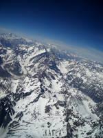 Cordillera de Los Andes by helasdunkelheit