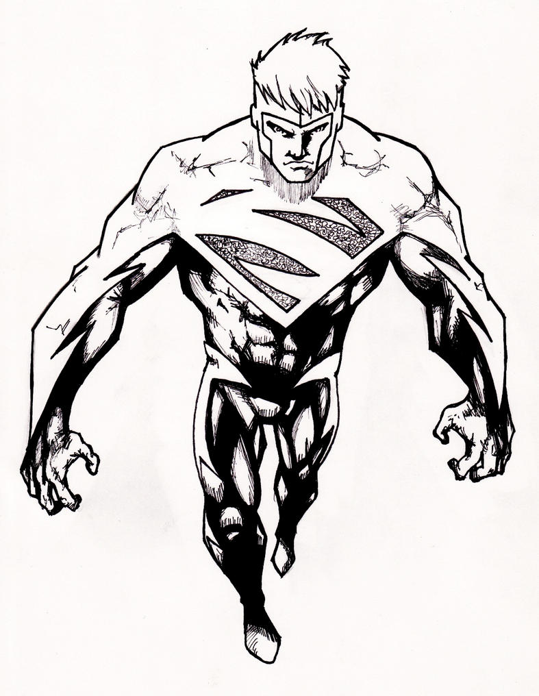 superman and superdog coloring pages - photo#27