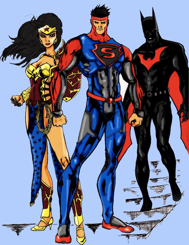 Batwoman and wonder woman kiss