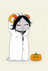 spooky ghost girl by randomkitty2