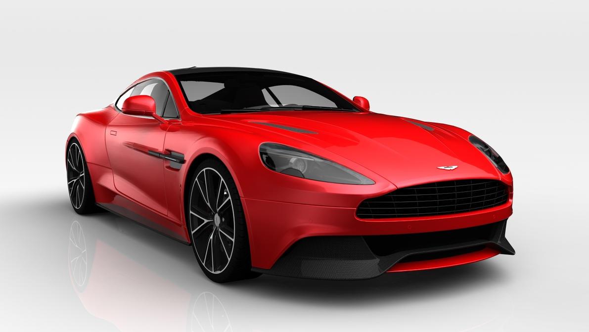2013 Aston Martin Vanquish Centenary Edition by markos807