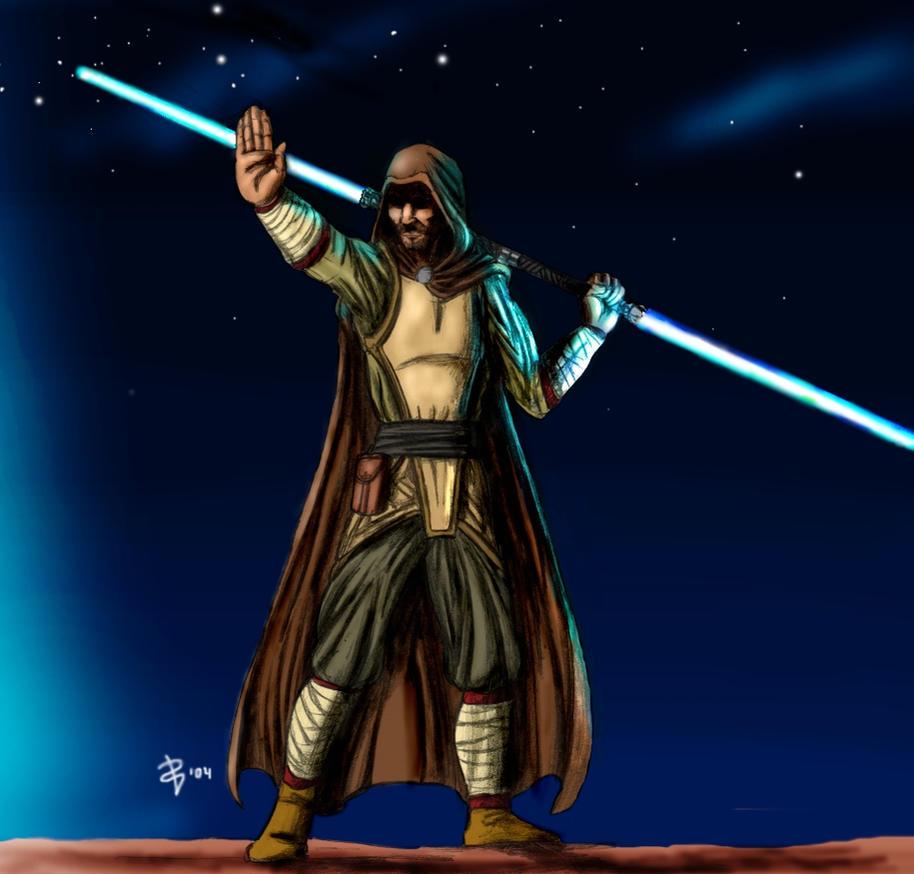 Jedi Wallpaper: Jedi By Muoteck On DeviantArt