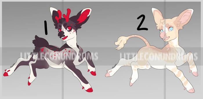 Deer Adopts 2 [2/2 OPEN]