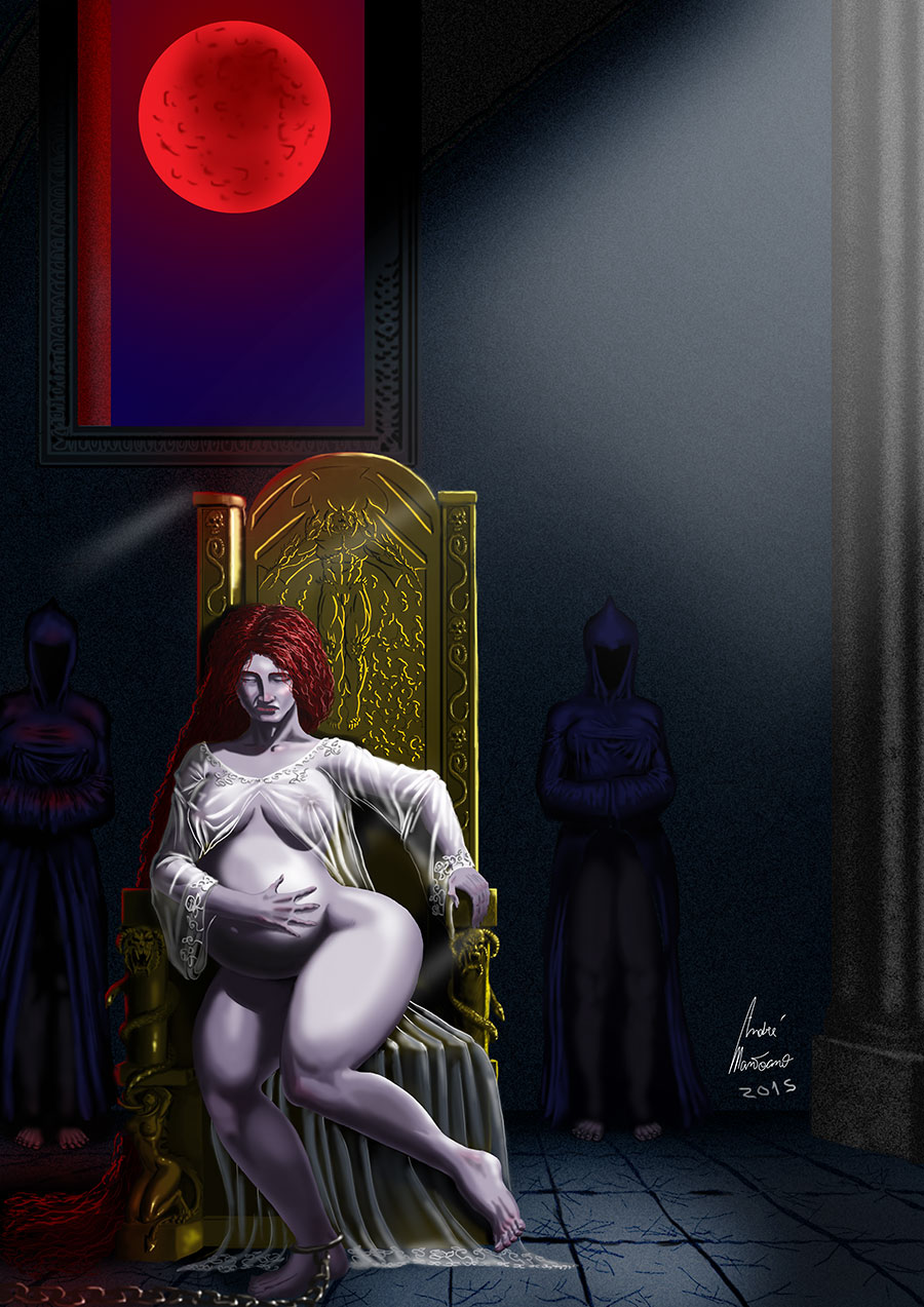 Kaligor - the first of the damned - scene 2 by mantoano
