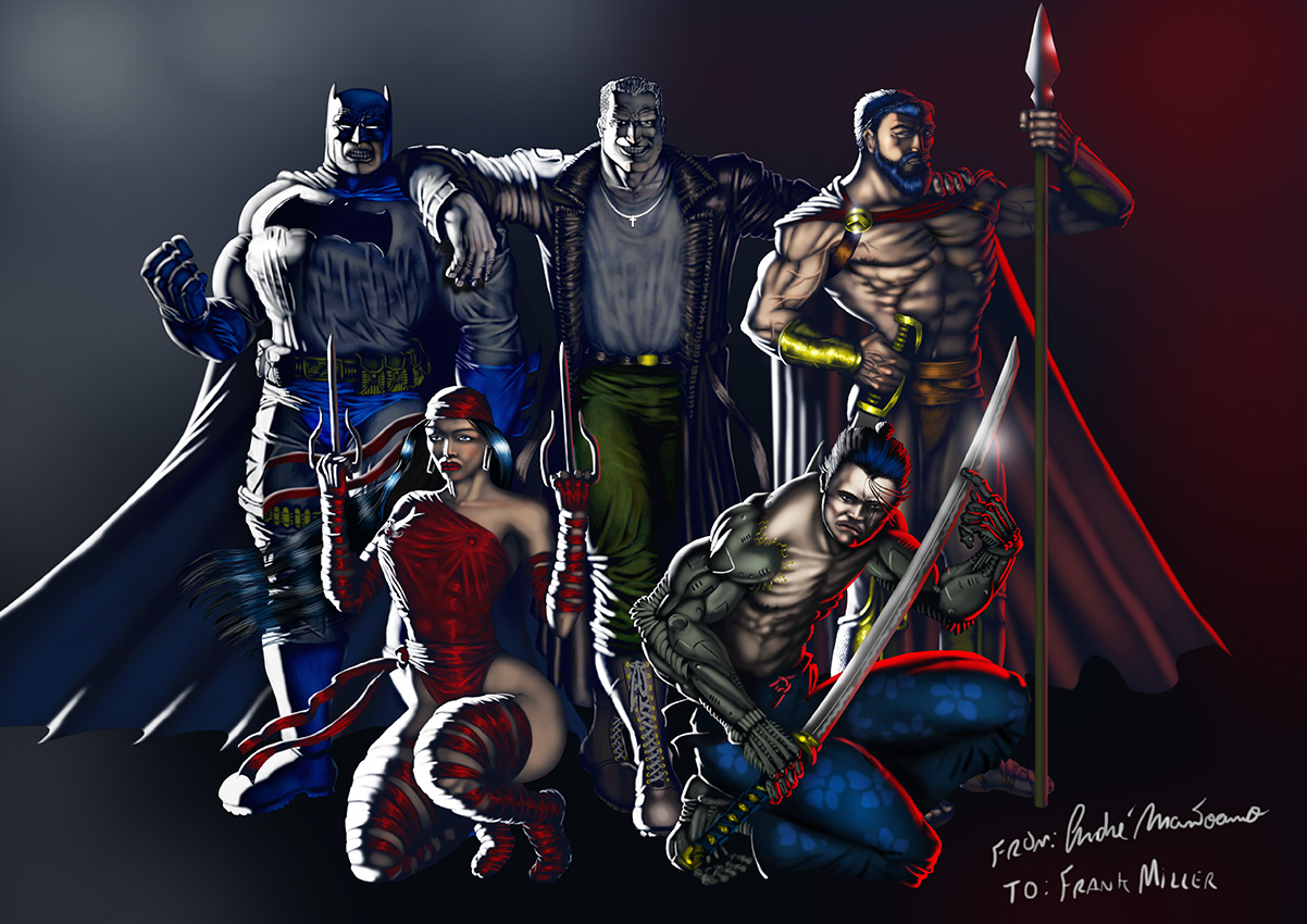 Frank Miller Tribute by mantoano