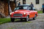 Skoda 450 Roadster arriving by kotynek