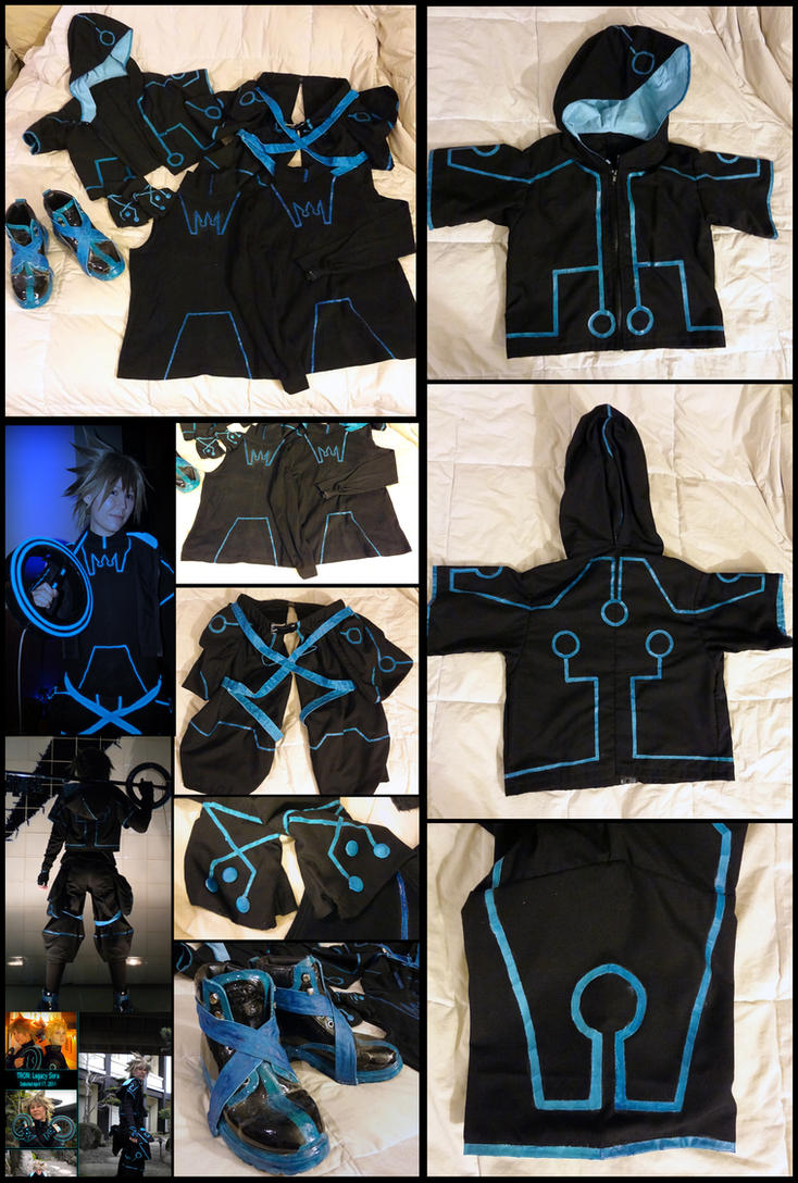 Selling Tron: Legacy Sora Cosplay by Ko-chan