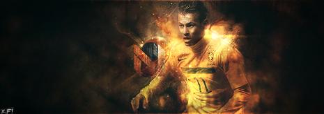 ".: « Les matchs ""Aller"" Journée : 1 ! :. Neymar_by_futboleroarts-d3h8ne1"
