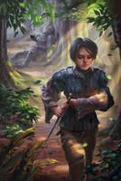 Arya And The Hound   by JadeVine95