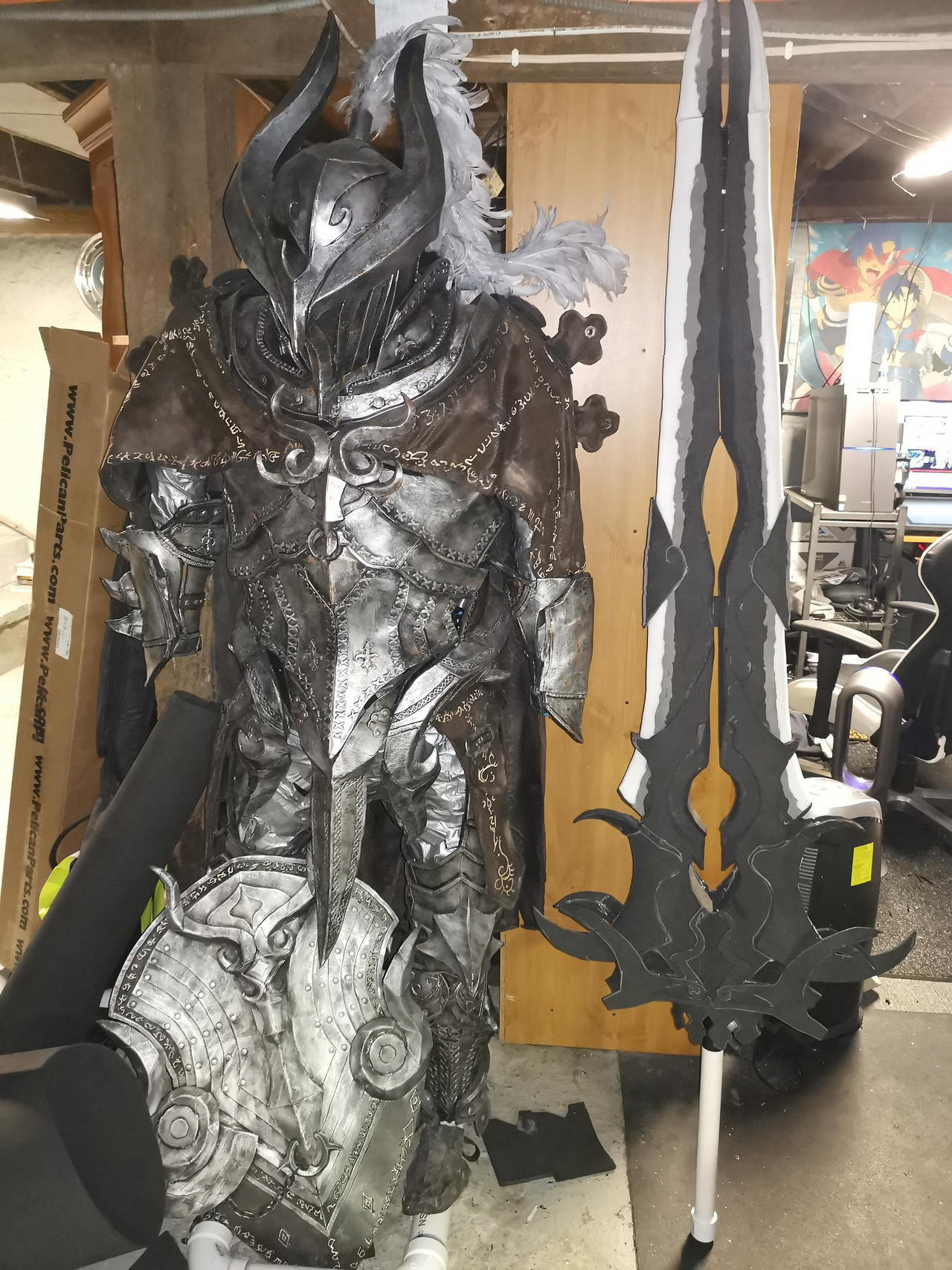Black Desert Online Warrior Armor WIP 7 by KaminaTamotsu on