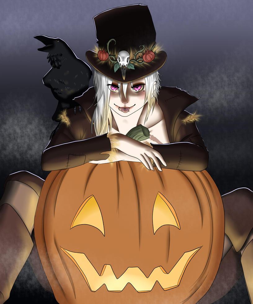 Scarecrow by kiba-chan27