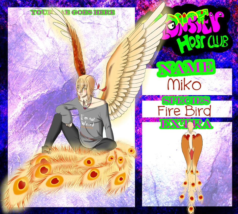 Monster Host Club : Miko by kiba-chan27